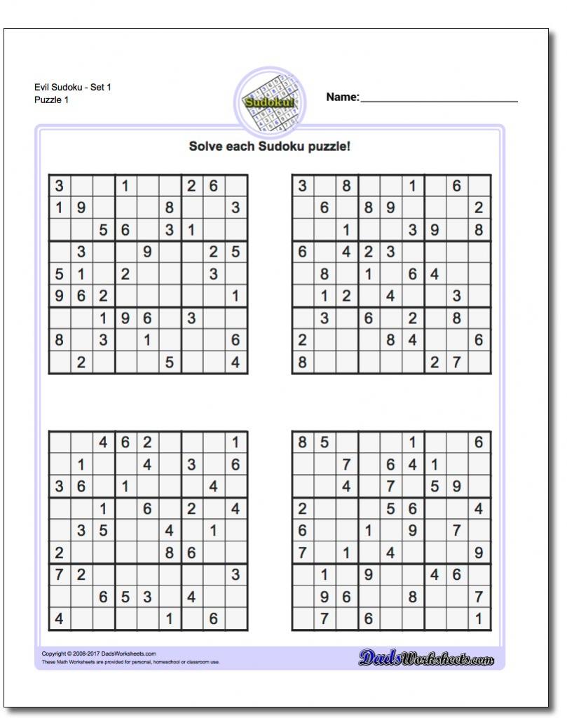 Printable Chain Sudoku Puzzles | Printable Sudoku Free - Printable Sudoku Puzzles Easy #2