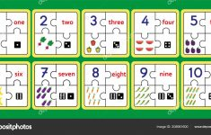 Printable Counting Puzzles, Number Strip Puzzle Work Tools Puzzle   Printable Number Puzzles 1 10