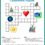 Printable Crossword Puzzles Kids | Crossword Puzzles On Earth   Printable Crossword Puzzle For Kindergarten
