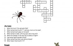 Printable Crosswords Puzzles Kids   Activity Shelter   Animal Crossword Puzzle Printable