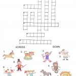 Printable Crosswords Puzzles Kids | Activity Shelter   Printable Horse Crossword Puzzles