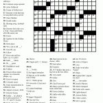 Printable Daily Crossword Puzzle (85+ Images In Collection) Page 2   Printable Crossword Puzzles 7 Year Old