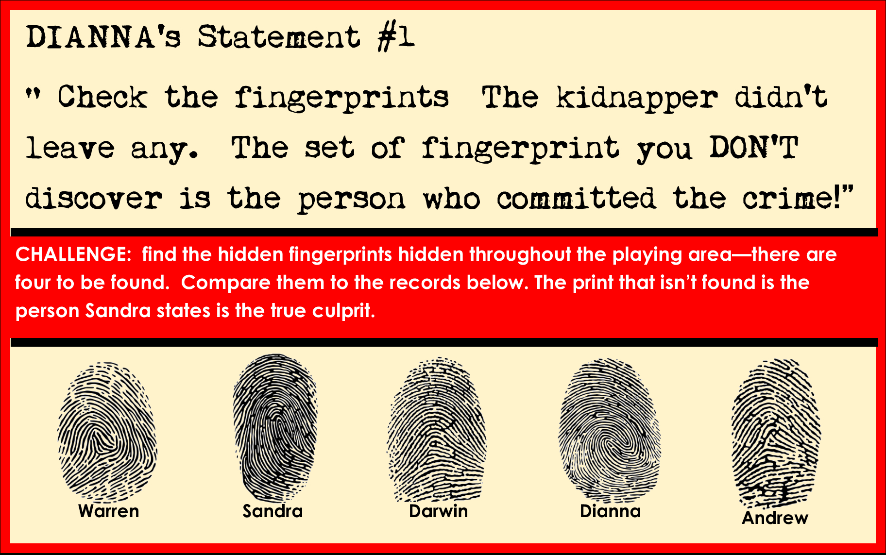 Printable Detective Party Game For Kids - Printable Detective Puzzles