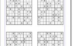Printable Evil Sudoku Puzzles | Math Worksheets | Sudoku Puzzles   Printable Sudoku Puzzle With Answer Key