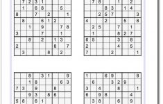 Printable Evil Sudoku Puzzles | Math Worksheets | Sudoku Puzzles   Printable Sudoku Puzzles For 5Th Grade