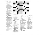 Printable Games For Adults | Activity Shelter   Printable Crossword Adults