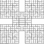 Printable Giant Sudoku Puzzles | Printable Sudoku Free   Printable Giant Puzzle