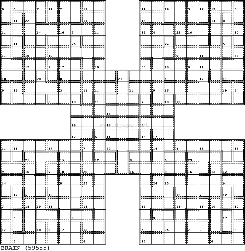 Printable Giant Sudoku Puzzles   Printable Sudoku Free - Printable Giant Puzzle