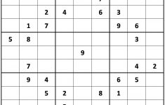 Printable Hard Sudoku | Printable   Difficult Sudoku Puzzles   Printable Sudoku Puzzles Uk