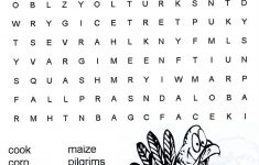 Printable Hard Thanksgiving Crossword Puzzle – Happy Easter – Printable Turkey Puzzle