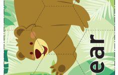 Printable Jigsaw Puzzles   Animals   Free Teaching Resource   Printable Jigsaw Puzzles Animals