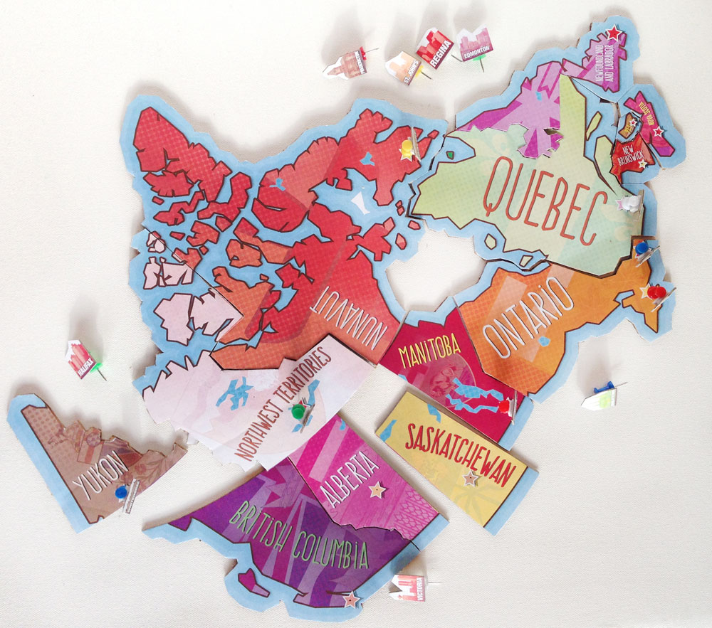 Printable Map Of Canada Puzzle | Play | Cbc Parents - Printable Puzzle Of Canada