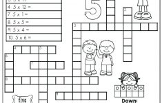 Printable Math Puzzles 5Th Grade Maths Ksheets Middle School Pdf Fun   Printable Math Puzzles For High School