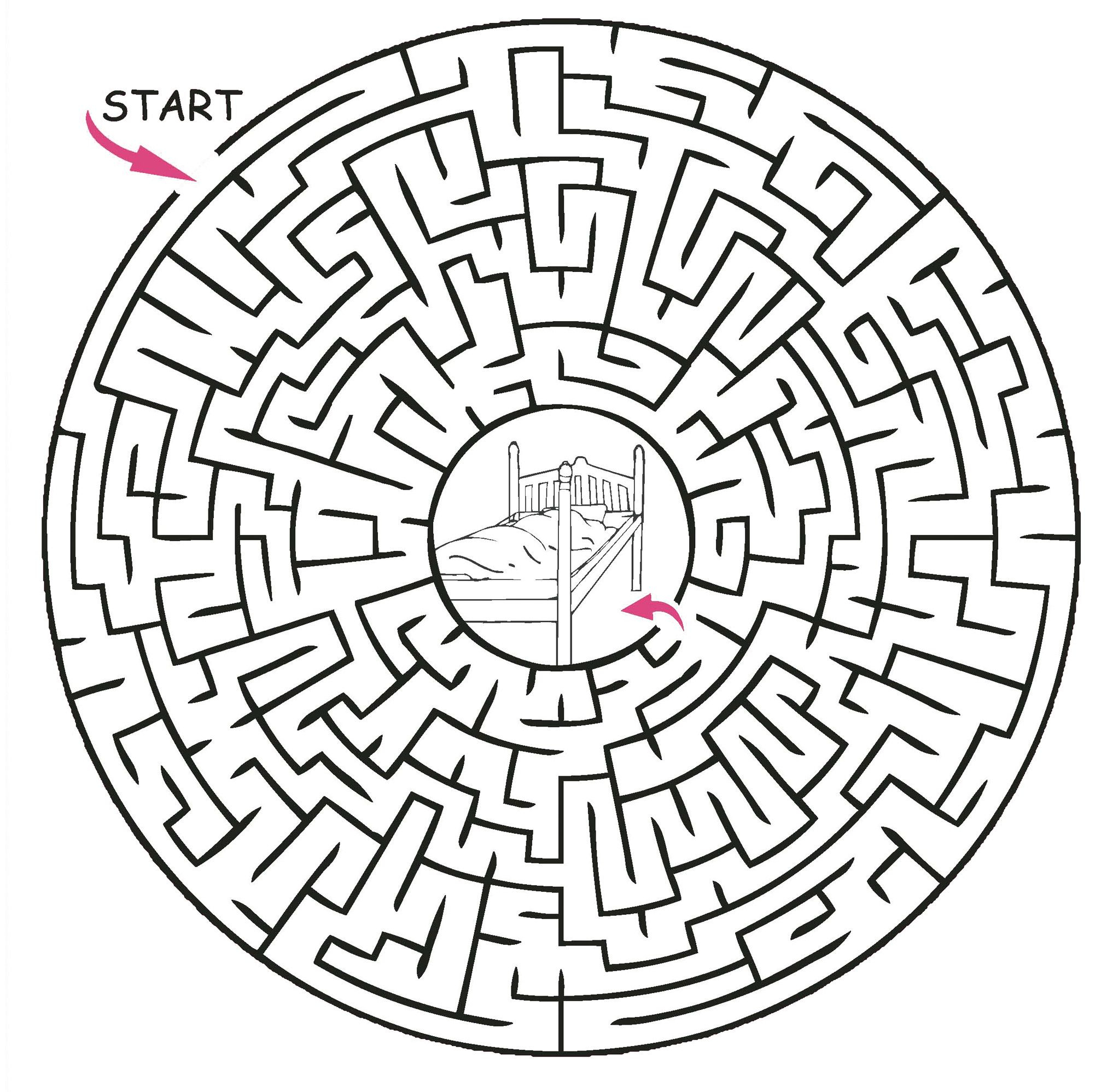 Printable Maze Puzzles - Google Search | My Garden | Mazes For Kids - Printable Labyrinth Puzzles