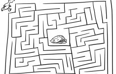 Printable Mazes For Kids – Free Maze Games For Children | Happy   Printable Toddler Puzzles