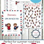 Printable Patriotic Games And Puzzles Pack For Kids   Printable July 4Th Puzzles