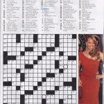 Printable People Magazine Crossword Puzz   Star Magazine Crossword Puzzles Printable