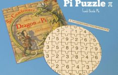 Printable Pi Puzzle For Pi Day – Teach Beside Me   Printable Puzzle Of The Day