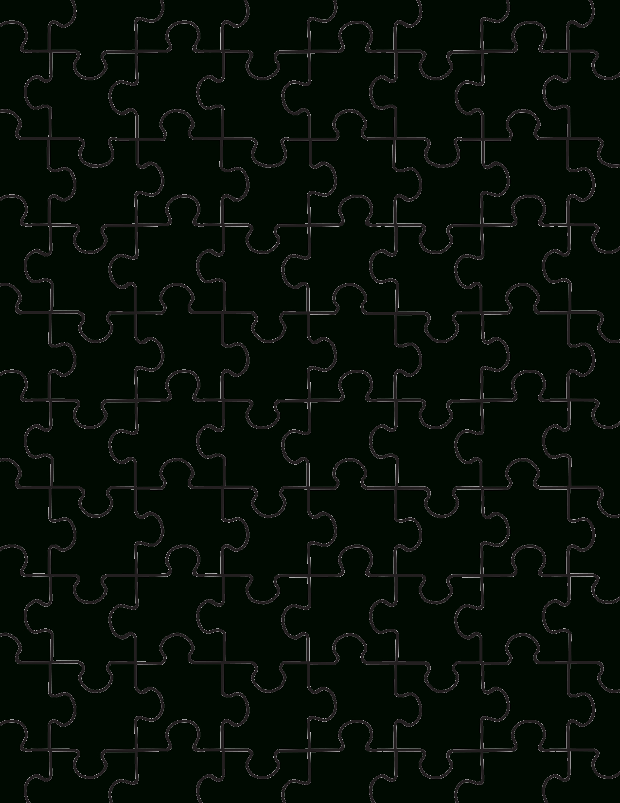 Printable Puzzle Pieces Template | Lovetoknow - Printable Puzzle Pieces Pdf