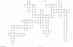 Printable Puzzles For Adults | Free Printable Crossword Puzzle For   Printable Crosswords For 9 Year Olds