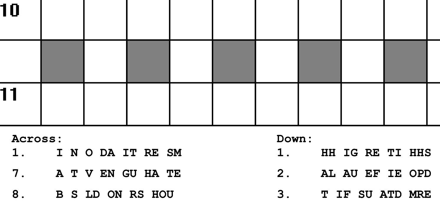 Printable Puzzles   Portfolio Categories   Puzzle Baron - Printable Rosetta Puzzles