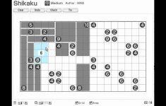Printable Shikaku (Sikaku) Nikoli Number And Logic Puzzles For Math   Printable Hidato Puzzles