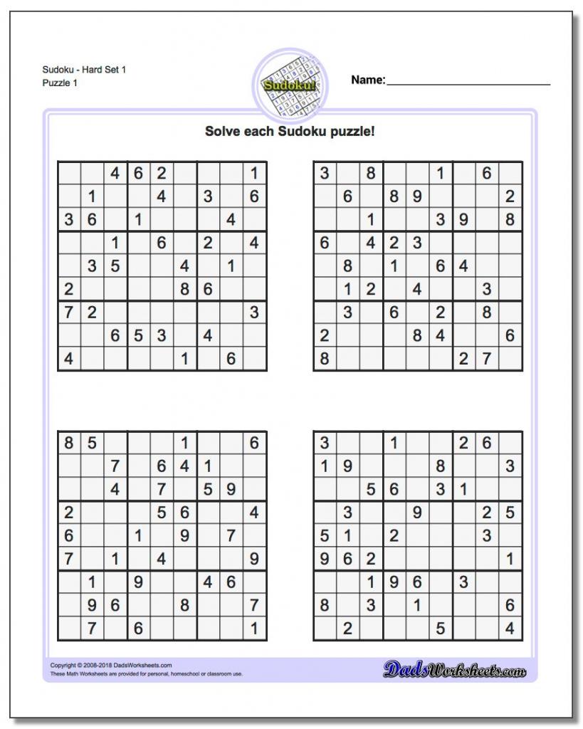 Printable Soduku   Ellipsis   Printable Sudoku Krazydad   Printable - Printable Sudoku Puzzles Krazydad