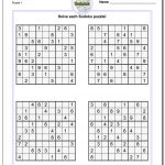 Printable Soduku | Room Surf   Printable Crossword Sudoku Puzzles