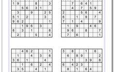 Printable Soduku | Room Surf   Printable Sudoku Puzzle Grids