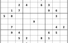 Printable Sudoku Classic | Printable Sudoku Free   Printable Sudoku Puzzles Medium #3