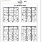 Printable Sudoku Free   5 Star Sudoku Puzzles Printable