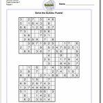 Printable Sudoku Free   Printable Puzzles By Krazydad