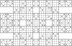 Printable Sudoku Free   Sudoku X Printable Puzzles