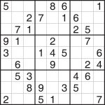 Printable Sudoku   Printable Sudoku Puzzle Easy