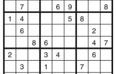 Printable Sudoku   Printable Sudoku Puzzles For Beginners