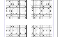 Printable Sudoku Puzzles | Ellipsis   Printable Sudoku Puzzles Easy #1 Answers