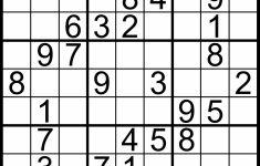 Printable Sudoku Puzzles Medium | Printable Sudoku Free   Printable Sudoku Puzzles Easy #1 Answers
