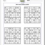 Printable Sudoku Puzzles | Room Surf   Sudoku Puzzle Printable With Answers