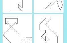 Printable Tangrams   An Easy Diy Tangram Template | Art For   Printable Tangram Puzzles
