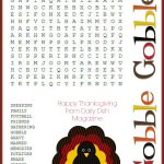 Printable Thanksgiving Crossword Puzzles – Happy Easter   Printable Thanksgiving Crossword Puzzles For Middle School