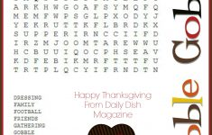 Printable Thanksgiving Crossword Puzzles – Happy Easter   Printable Thanksgiving Crossword Puzzles For Middle School