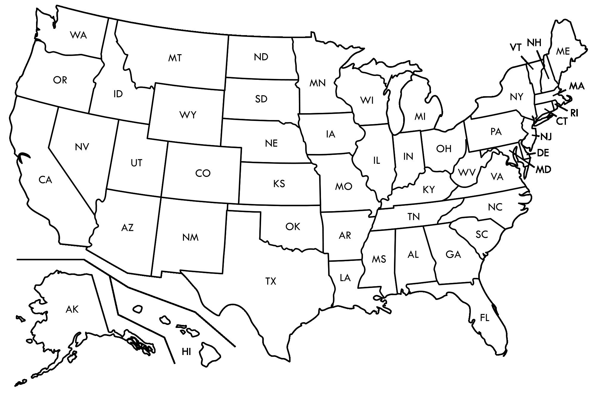 Printable Us State Map Puzzle Com Inside - D-Df - Printable State Puzzle