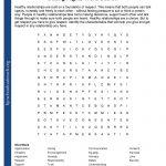 Printable Worksheets   College Crossword Puzzle Printable