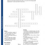 Printable Worksheets   Printable Crossword Puzzles With Word Bank