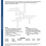 Printable Worksheets   Printable Worksheets Crossword Puzzles