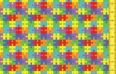 Printed Pattern Htv   Puzzle #23   Puzzle Print Htv