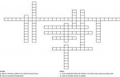 Printers Measure Crossword   Printable Crossword Mirroreyes