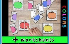 Pumpkin Colors Puzzle Game For K   Grade 1 | Best Of Planerium   K Print Puzzle