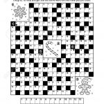 Puzzle Page With Winter Holiday Themed Codebreaker (Or Codeword   Printable Codeword Puzzles