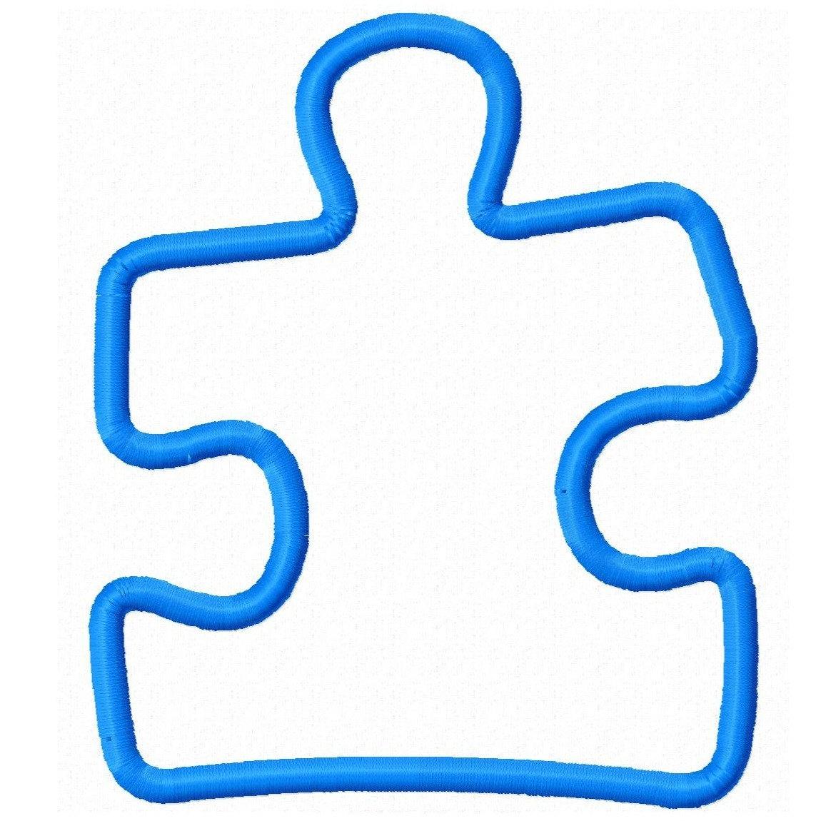 Puzzle Pieces Outline   Free Download Best Puzzle Pieces Outline On - Free Printable Autism Puzzle Piece